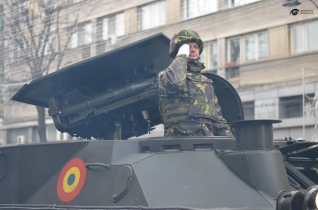 Parada militara 1 decembrie Iasi 09
